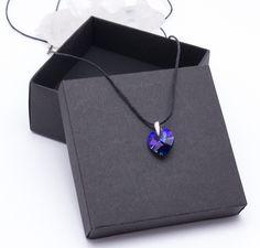 Charm Necklaces – Pendant Blue – a unique product by Blackif on DaWanda