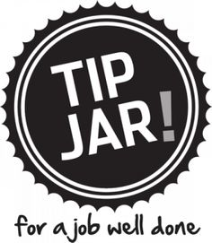 image regarding Printable Tip Jar Signs named 108 Least complicated Suggestion Jars and Suggestion Pins shots inside of 2016 Idea jars