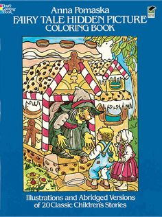 Brief versions of 20 favorite fairy tales come with delightful drawings to color, plus hidden objects to be discovered. Includes <I>The Wizard of Oz, Alice in Wonderland, Sleeping Beauty,</I> and <I>Pinocchio</I>.<br>