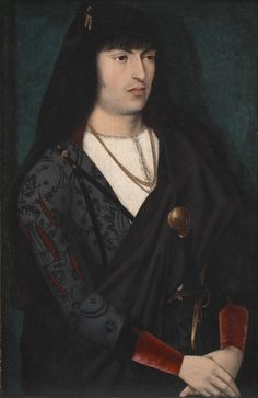 Portrait of a Man, c. 1480-1500 Northeastern France or the Burgundian Netherlands, 15th century