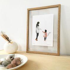 #Moebe #Moebeframe Het werk van @saarmanche vind ik prachtig, de eenvoud en het kleurgebruik. Blij met deze print!