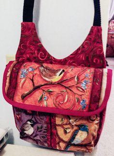 ❤ =^..^= ❤   Handbag of the Month contest! | Studio Kat Designs Tracy'sGadabout for birdwatchers