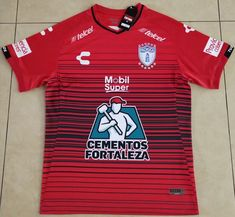 Tuzos Away Red Thailand Soccer Jersey Soccer Kits, Kids Soccer, Pachuca Cf, Football Uniforms, Soccer Jerseys, World Cup Kits, Jersey Atletico Madrid, Fortaleza