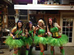 Teenage mutant ninja turtle costumes!