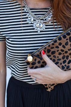 winter details   leopard clutch