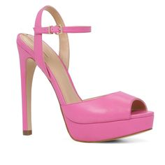ALDO Wrighta - Fuchsia Platforms. Get the must-have platforms of this season! These ALDO Wrighta - Fuchsia Platforms are a top 10 member favorite on Tradesy. Save on yours before they're sold out!
