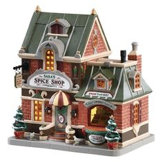 Make 2018 a year to remember with the latest Lemax holiday village collectables. Start a family Christmas tradition with Lemax Village Collection today! Lemax Christmas Village, Lemax Village, Christmas Villages, Succulent Garden Diy Indoor, Outdoor Christmas Decorations, Holiday Decor, Minecraft, Country Home Exteriors, House Exteriors