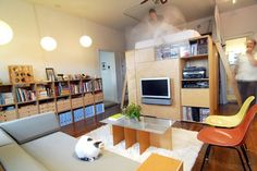 5 Smart Studio Apartment Layouts   Apartment Therapy