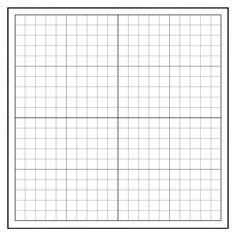 "503005, Repositionable, Low-Tac Peel & Stick Graph - 1"" Squares"