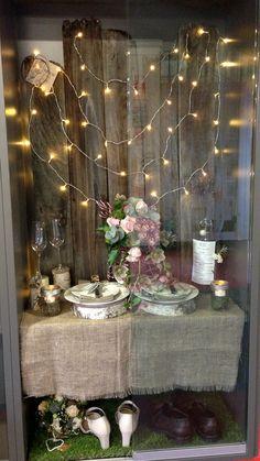 My finished display ! Rustic wedding Barn wedding Certificate III floristry