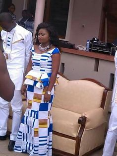 Hottest Kente Styles For Celebrities Couples African Outfits, African Dresses For Kids, Latest African Fashion Dresses, African Print Fashion, African Wedding Attire, African Attire, African Wear, African Women, Kitenge