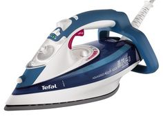 With a self clean function and anti-drip function, this Tefal iron takes the hassle out of housework. A vertical steam allows easy use, while the three metre cord provides flexibility. Laundry Appliances, Small Appliances, Home Appliances, Steam Iron Reviews, Liverpool, Iron Accessories, St Gallen, December, Power Colors