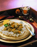 Chicken Sauté with Pineapple and Lemon Grass Recipe