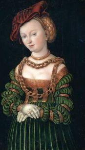 Cranach, green sleeves.