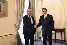 Schulz: Un acuerdo en Chipre sería un mensaje de esperanza para toda Europa