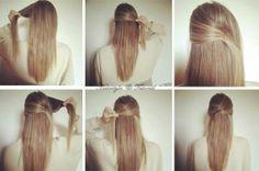 Krydset hår