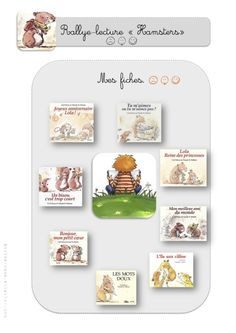 Rallye Lecture - Monstres Hamsters, Album, Animal, Index Cards, Youth, Monsters, Animals, Card Book, Animaux