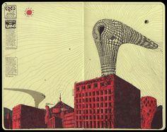 Galería de 7 dibujos de Moon Hoon que efectivamente se construyeron - 8