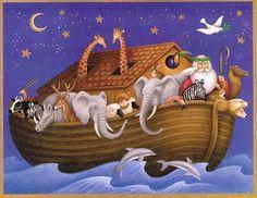 De ark van Noach: illustratie