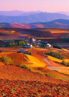 Yuanyang County, Yunnan province, China: - holidayspots4u