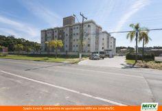 Paisagismo do Jurerê. Condomínio fechado de apartamentos localizado em Joinville / SC