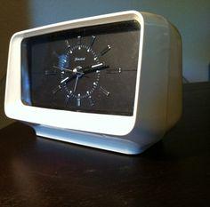 Vintage Mid Century Homestead Alarm Clock Eames