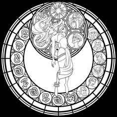 SG: Kida -lineart- by Akili-Amethyst on DeviantArt Cool Coloring Pages, Disney Coloring Pages, Printable Coloring Pages, Adult Coloring Pages, Coloring Books, Disney Stained Glass, Disney Colors, Colorful Pictures, Line Art