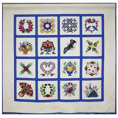 """Guarded Garden"" by Diane Selman.  First Place in Applique. Austin Area Quilt Guild 2014 show."