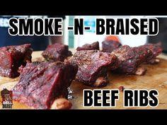 Smoke-N-Braised Beef Ribs