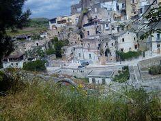 veduta panoramica dal giardino officine culturali di zona San Michele