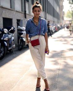 Smart casual wear for summer Smart casual wear for summer Smart Casual Outfit Summer, Smart Outfit, Casual Outfits, Fashion Outfits, Fashion Hacks, 80s Fashion, Fashion Art, Korean Fashion, Vintage Fashion