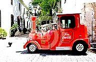 Coca-Cola Tourist Train Vehicle