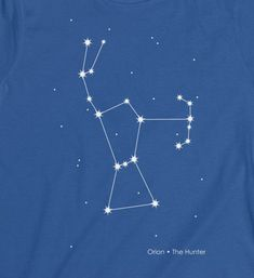 Orion Constellation Fitted Shirt Orion Nebula Constellation Hunter tshirt Star Constellation Space Shirt Nerd Gift Idea Orion Belt Milky Way - Whirlpool Galaxy-Andromeda Galaxy-Black Holes Orion Nebula, Andromeda Galaxy, Hubble Space Telescope, Space And Astronomy, Orion's Belt Tattoo, Black Hole Theory, Nebula Tattoo, Nerd Gifts, Star Constellations