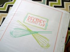D.I.Y. - Recipe Binder with Free Printables