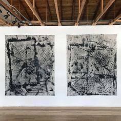 Paul Weiner installation shot at Alto Gallery artwork Paul Owen Weiner Expressionism, Abstract, Gallery, Artwork, Painting, Instagram, Summary, Work Of Art, Roof Rack