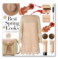 That Spring Look! by cssnead on Polyvore featuring polyvore, fashion, style, Mela Loves London, Satya Twena, Linda Farrow, Bobbi Brown Cosmetics, H&M and clothing