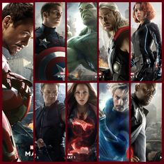 Avengers Assemble !!! Avengers: Age of Ultron.