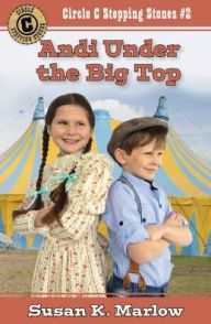 Andi Under the Big Top is the second installment from Susan K Marlow's new series, Circle C Stepping Stones. It is summertime now and the circus is coming to town. Andi is excited to see the show. She meets a new friend, Henry Jackson, a little boy that works and travels with the circus. Andi finds out he's a runaway and wants to help him get back home. Helping him could cost her more than realizes!   My daughter and I happily added this book to our nightly reading time. It was fun to…