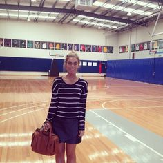 Our #intern Courtney checking out the facilities today at #AndrewBogut #Basketball Academy, helping us plan ahead for an exciting upcoming couple of months.