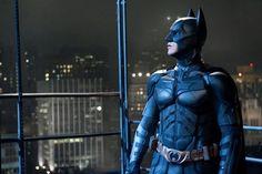 "Christian Bale as Batman in ""The Dark Knight Rises."""
