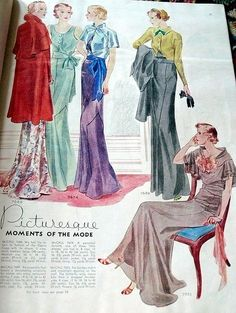 McCall magazine, spring 1934 Featuring McCall 7688, 7674, 7689 and 7653