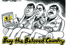 Zapiro: It's all yours Guptas - for a price - Mail & Guardian