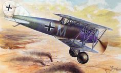 Pfalz D.XII Late Version by Stan Hajek