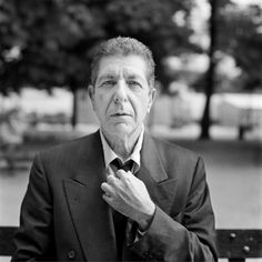 """cohenyearsphotos: """" """" Photo of Leonard Cohen by Renaud Monfourny Leonard Cohen, 1994 Jardin des Tuileries. """"Back in Paris, Leonard Cohen, I had a long meeting in Los Angeles, just to promote his live album. He's in a Parisian hotel, but agrees to go..."""