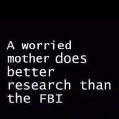 Worried mom