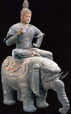 Statue of Indra, Toji Temple in Kyoto 帝釈天騎象像(東寺) Religion, Buddhist Art, Japan Art, Religious Art, Japanese Culture, Ancient Art, Chinese Art, Sculpture Art, Oriental