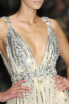 love this DEEP V sparkly dress!