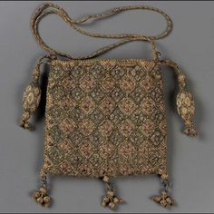 Drawstring bag        English, 1600–25