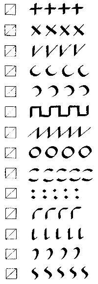 Calligraphy Writing Exercises | dancing pen calligraphy