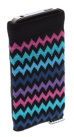 Trendz Universal Smartphone Sock for iPhones (iPhone 5 and Previous Models Only), iPods and MP3 Devices - Black with Zig Zag Pattern Trendz http://www.amazon.co.uk/dp/B006I3MHZY/ref=cm_sw_r_pi_dp_gsSAwb0WTTCV8